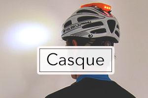 Lampe frontal pour casque vélo