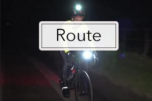eclairage velo route