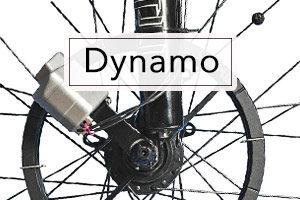 Lampe dynamo pour vélo